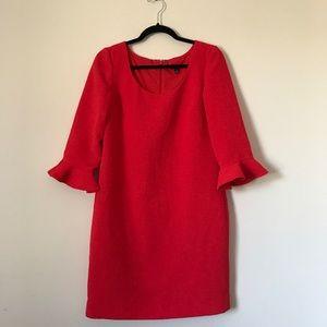 Bell Sleeve Dress    Ann Taylor